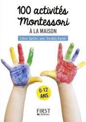 Petit livre de 100 activités montessori pour les enfants