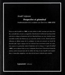 Persperctive et géométral