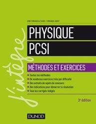 Physique Méthodes et exercices PCSI
