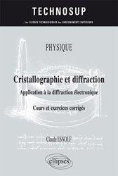 Physique - Cristallographie et diffraction