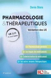 Pharmacologie & thérapeutiques, UE 2.11
