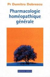 Pharmacologie homéopathique générale