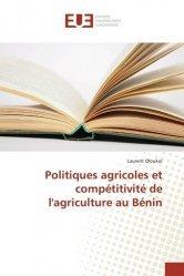 Politiques agricoles et compétitivité de l'agriculture au Bénin