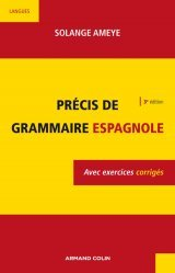 Précis de Grammaire Espagnole (3e Edition)
