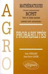 Probabilités BCPST