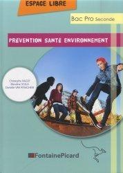 Prévention - Santé - Environnement Seconde