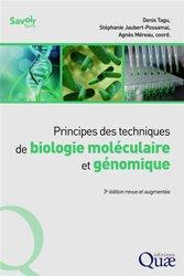 Principes des techniques de biologie moléculaire