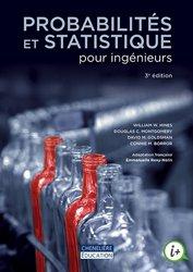 Probabilités et statistique pour ingénieurs
