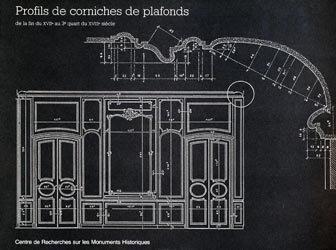 Profils de corniches de plafonds