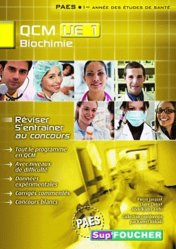 QCM UE1 Biochimie