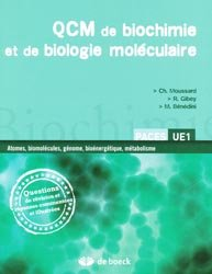 QCM de biochimie et de biologie moléculaire