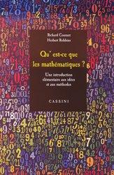 Qu'est-ce que les mathématiques ?
