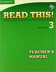 Read This! Level 3 - Teacher's Manual with Audio CD