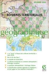 Réformes territoriales