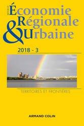 Revue d'économie régionale et urbaine nº 3/2018 Territoires et frontières
