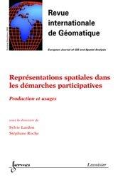 Représentations spatiales dans les démarches participatives : production et usages