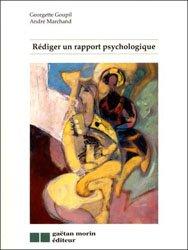 Rédiger un rapport psychologique