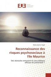 Reconnaissance des risques psychosociaux à l'Ile Maurice