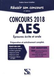 Réussir son concours 2018 AES