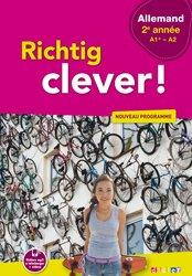 Richtig Clever 2ème Année - Livre