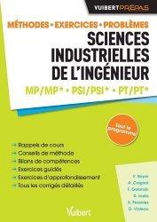 Sciences industrielles de l'ingénieur MP/MP* PSI/PSI* PT/PT*