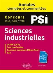 Sciences industrielles PSI