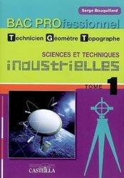 Sciences et techniques industrielles Bac Pro Technicien Géomètre Topographe