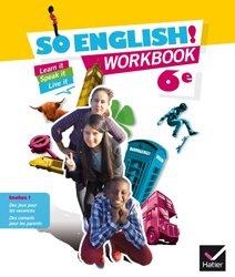So English! 6e : Workbook