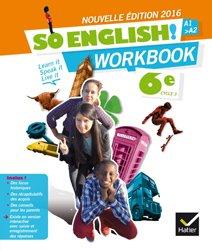 So English! 6e (2016) : Workbook