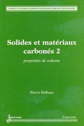 Solides et matériaux carbonés 2