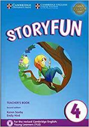 Storyfun 4 - Teacher's Book with Audio