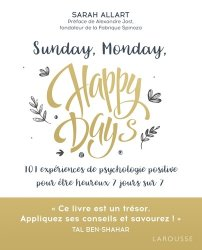 Sunday, Monday, happy days !