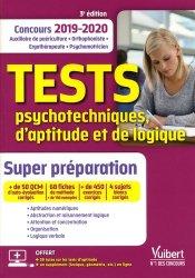 Tests psychotechniques, d'aptitude et de logique Concours 2019-2020