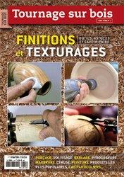 Tournage sur bois : finitions et texturages
