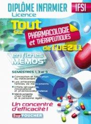Tout sur Pharmacologie et Thérapeutiques de l'UE 2.11