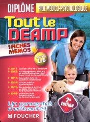 Tout le DEAMP en fiches mémos - Diplôme d'état aide médico-psychologique