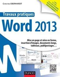 Travaux pratiques Word 2013