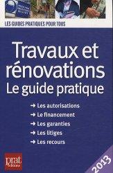 Travaux et rénovations 2013