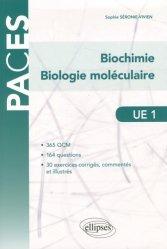 UE1 - Biochimie - Biologie moléculaire