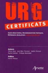 Urg' certificats