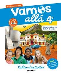 Vamos allá 4e LV2 : Cahier d'Activités