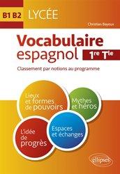 Vocabulaire espagnol au lycée