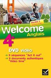 Welcome Anglais 4e : DVD Vidéo