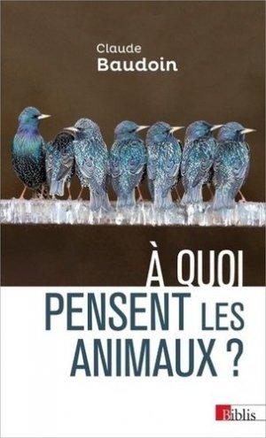 A quoi pensent les animaux ?-CNRS-9782271122384