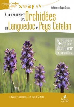 A la découverte des orchidées en Languedoc et Pays Catalan-Biotope-9782366622225