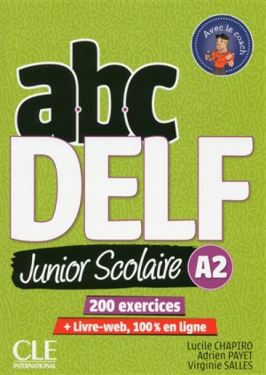ABC DELF Junior scolaire A2-cle international-9782090382495