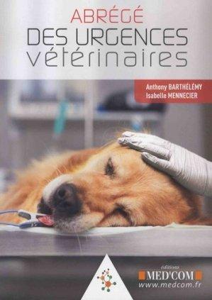 Abrégé des urgences vétérinaires - med'com - 9782354032654