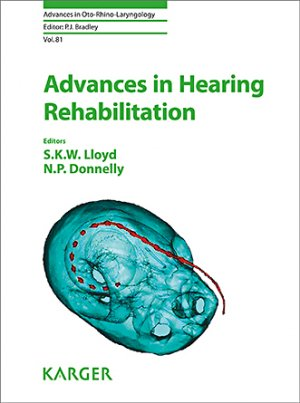 Advances in Hearing Rehabilitation-karger-9783318063141