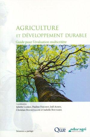 Agriculture et developpement durable - quae  - 9782759224395