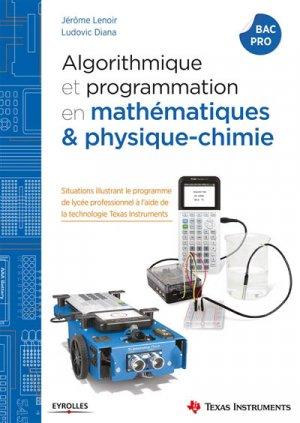 Algorithmique et programmation avec la TI-83 Premium CE en maths & physique chimie-eyrolles-9782212676228